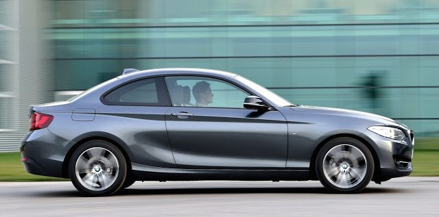 2016 BMW 2-Series coupe grey