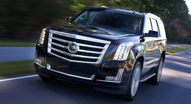 2016 Cadillac Escalade black