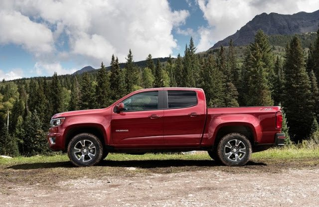 2016 Chevrolet Colorado red