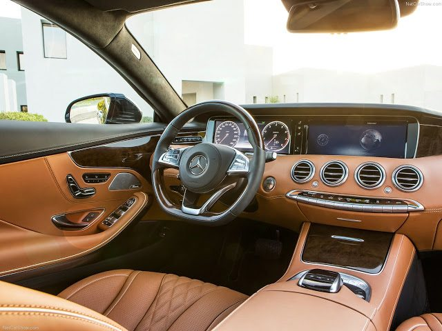 2016 Mercedes-Benz S-Class Coupe interior