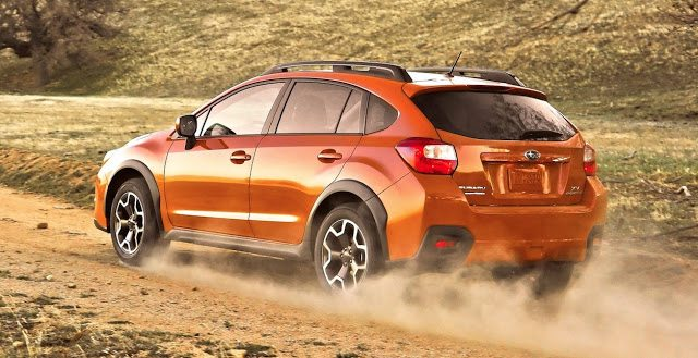 2013 Subaru Crosstrek orange