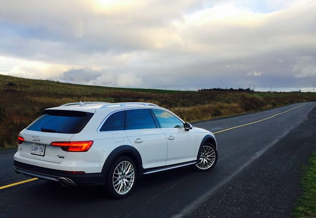 2017 Audi A4 Allroad Glacier White rear