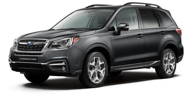 2017 Subaru Forester grey