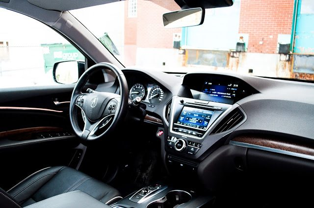 2017 Acura MDX Elite interior