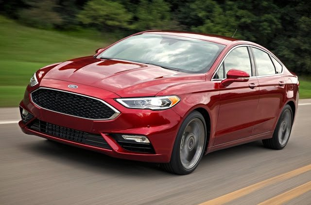 2016 Ford Fusion V6 Sport