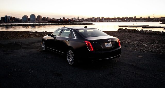 2017 Cadillac CT6 rear Halifax Harbour