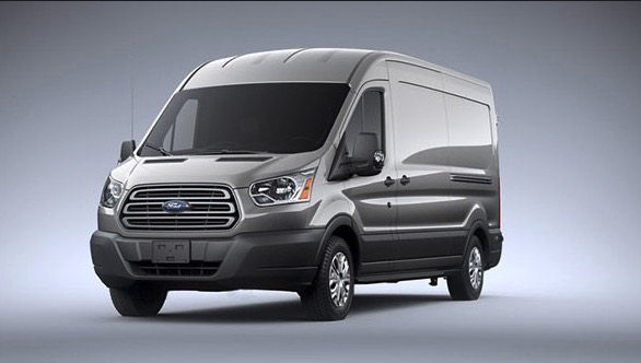 2017 Ford Transit grey