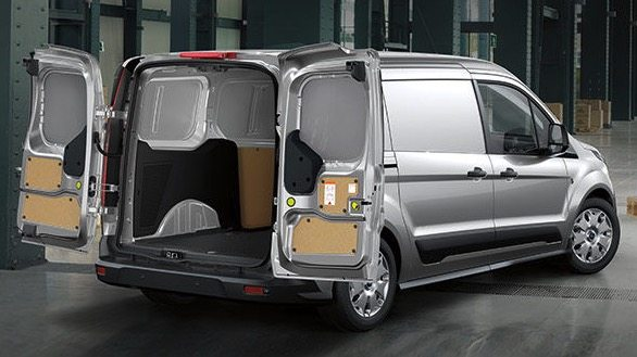 2017 Ford Transit Connect grey