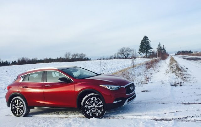 2017 Infiniti Qx30 Awd Magnetic Red