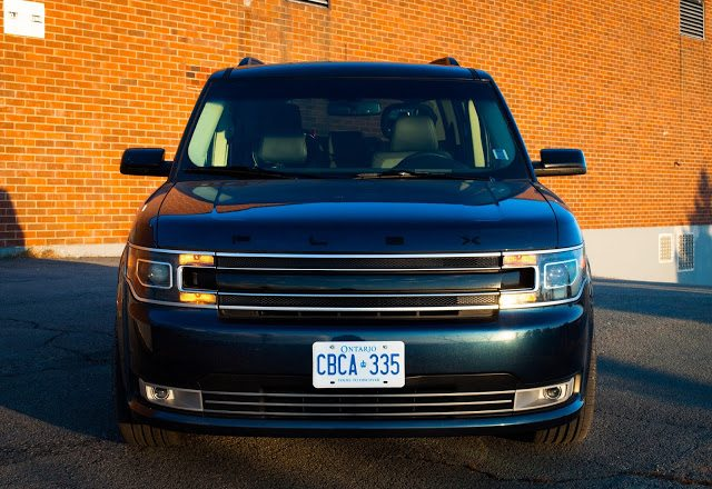 2017 Ford Flex Limited Blue Jeans front
