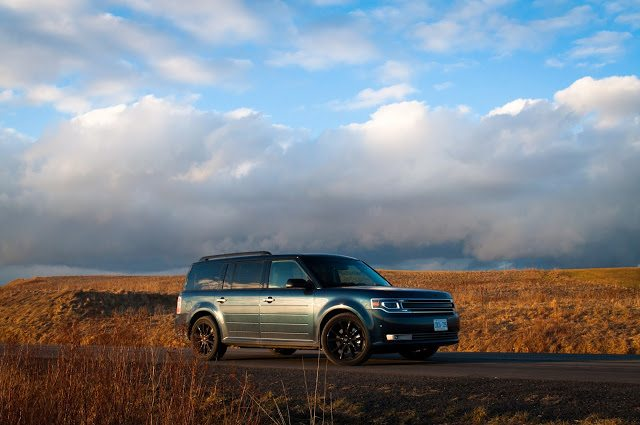 2017 Ford Flex EcoBoost Limited Blue Jeans