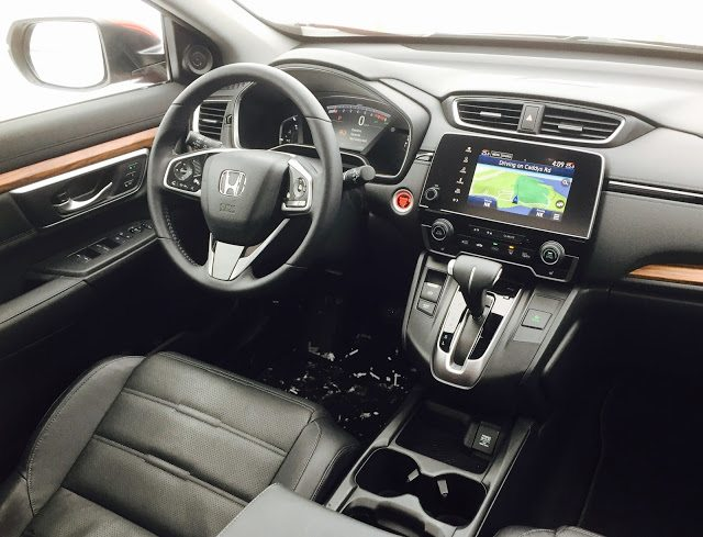 2017 Honda CR-V Touring interior