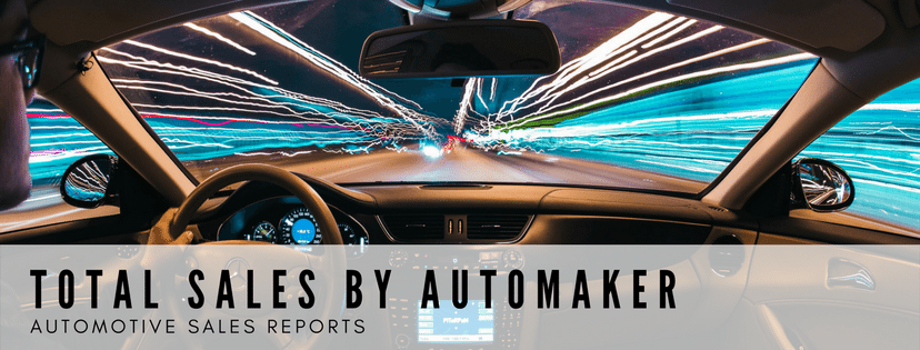 Total Sales by Automaker