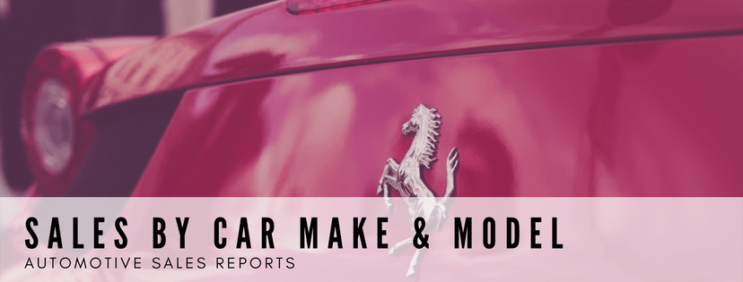 Sales Reports by Car Make & Model