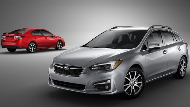 2017 Subaru Impreza hatch and sedan