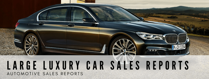 Large Luxury Car Sales Reports