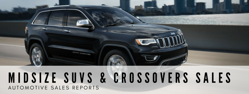 Midsize SUVs & Crossovers Sales