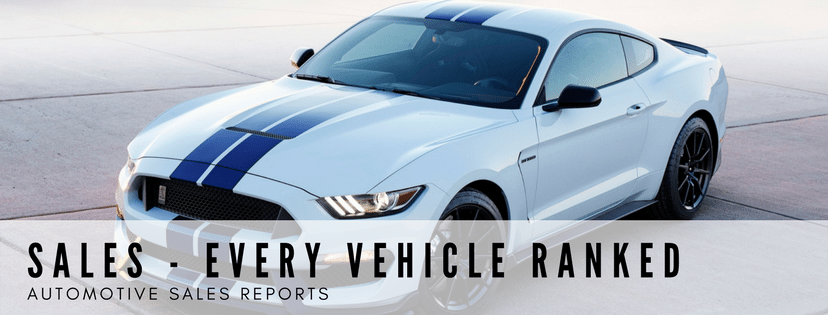 All Vehicle Sales Rankings - Best-Selling Vehicles - Every Vehicle Ranked