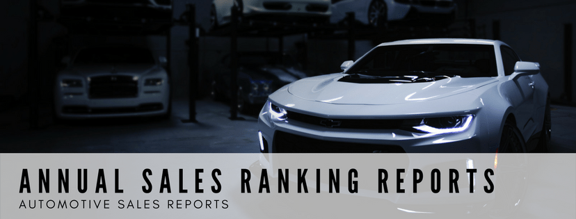 All Vehicle Sales Rankings
