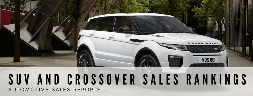 SUV And Crossover Sales Rankings - Best-Selling SUVs - Every SUV Ranked