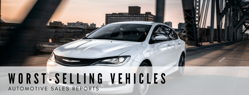 Worst-Selling Vehicles In United States & Canada