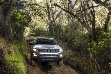 All-new 2017 Jeep® Compass Trailhawk - Image: FCA