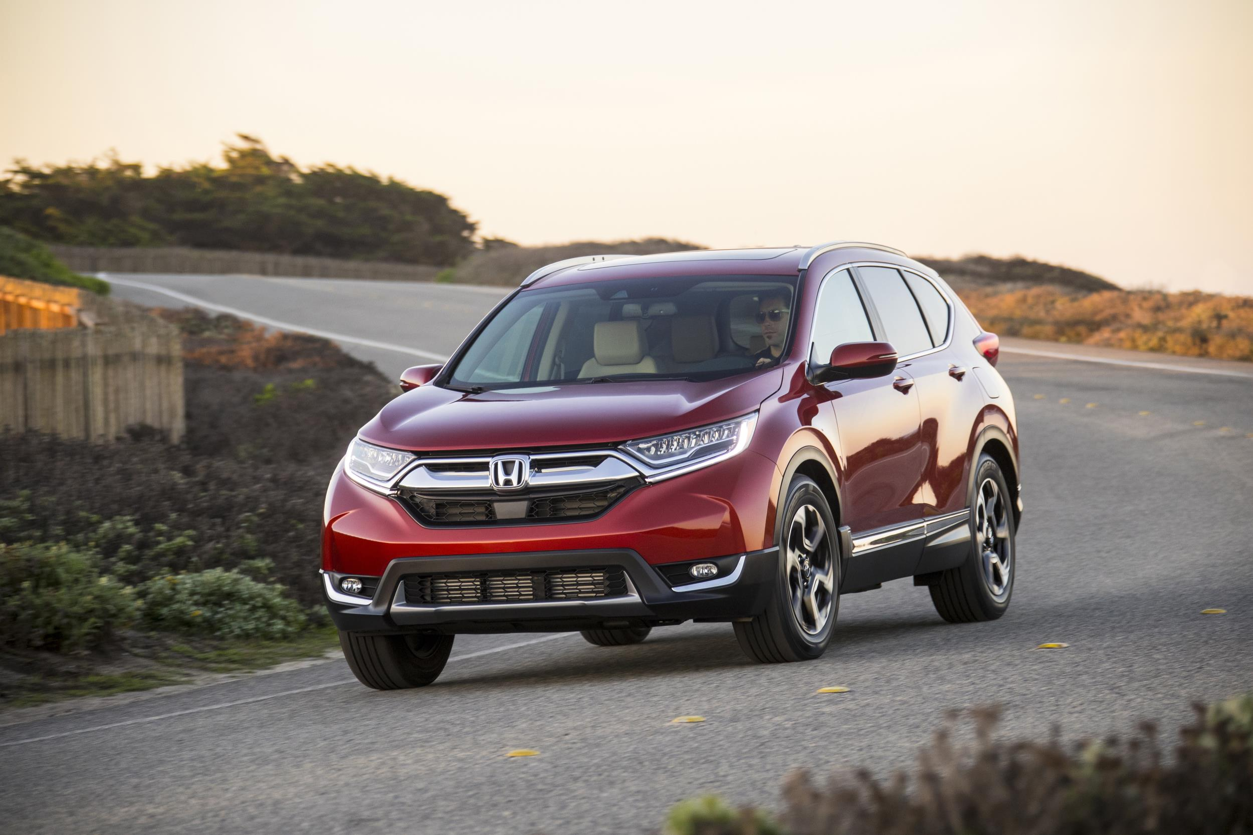 Honda CR-V, one of Honda's top selling vehicles in calendar year 2017