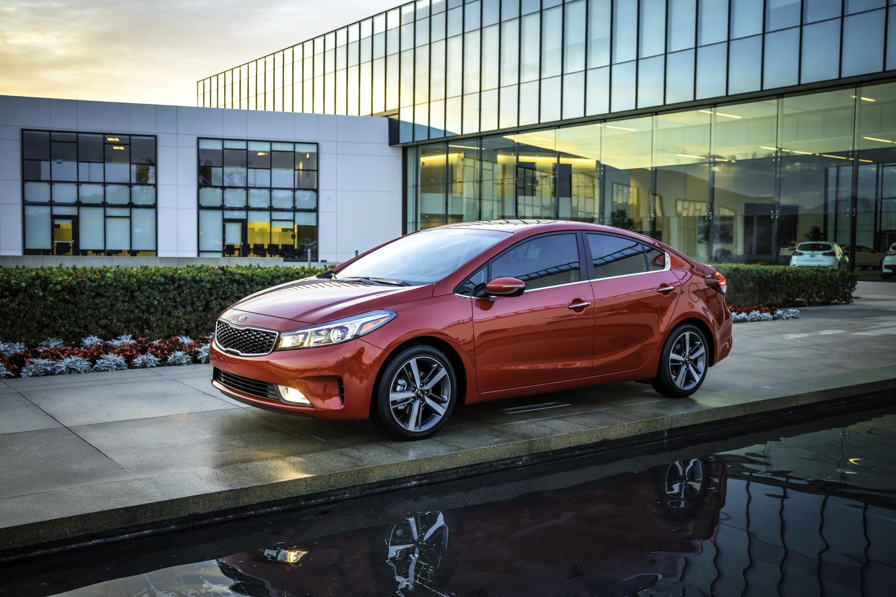 Kia Forte, one of Kia's top selling vehicles in calendar year 2017