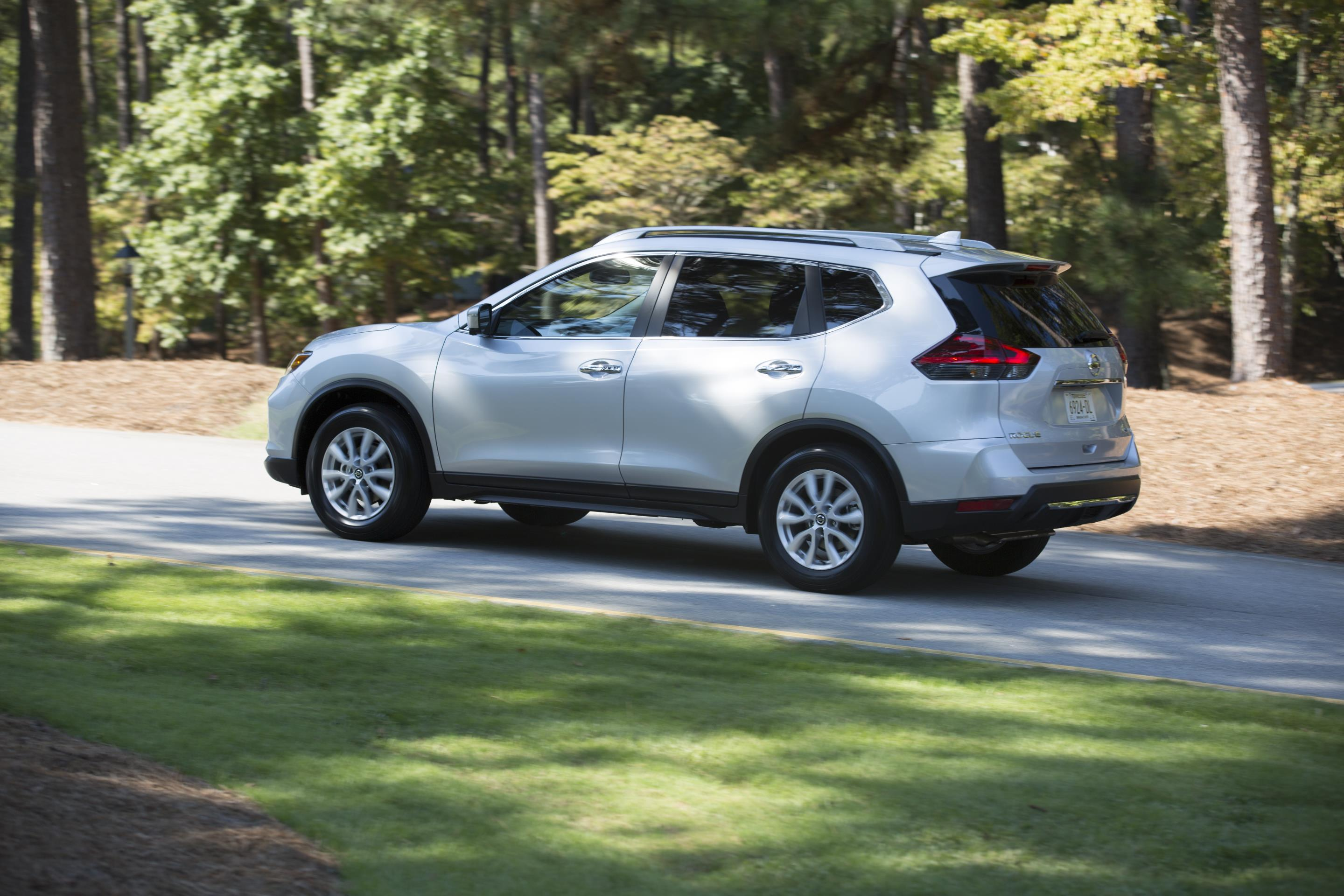 Nissan Rogue, one of Nissan's top selling vehicles in calendar year 2017