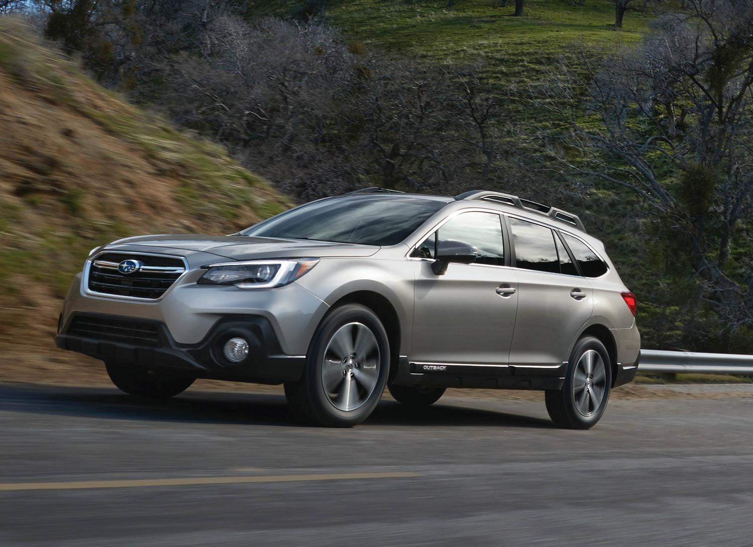 Subaru Outback, one of Subaru's top selling vehicles in calendar year 2017