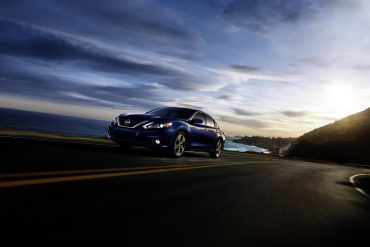 Nissan Altima, one of Nissan's top selling vehicles in calendar year 2017