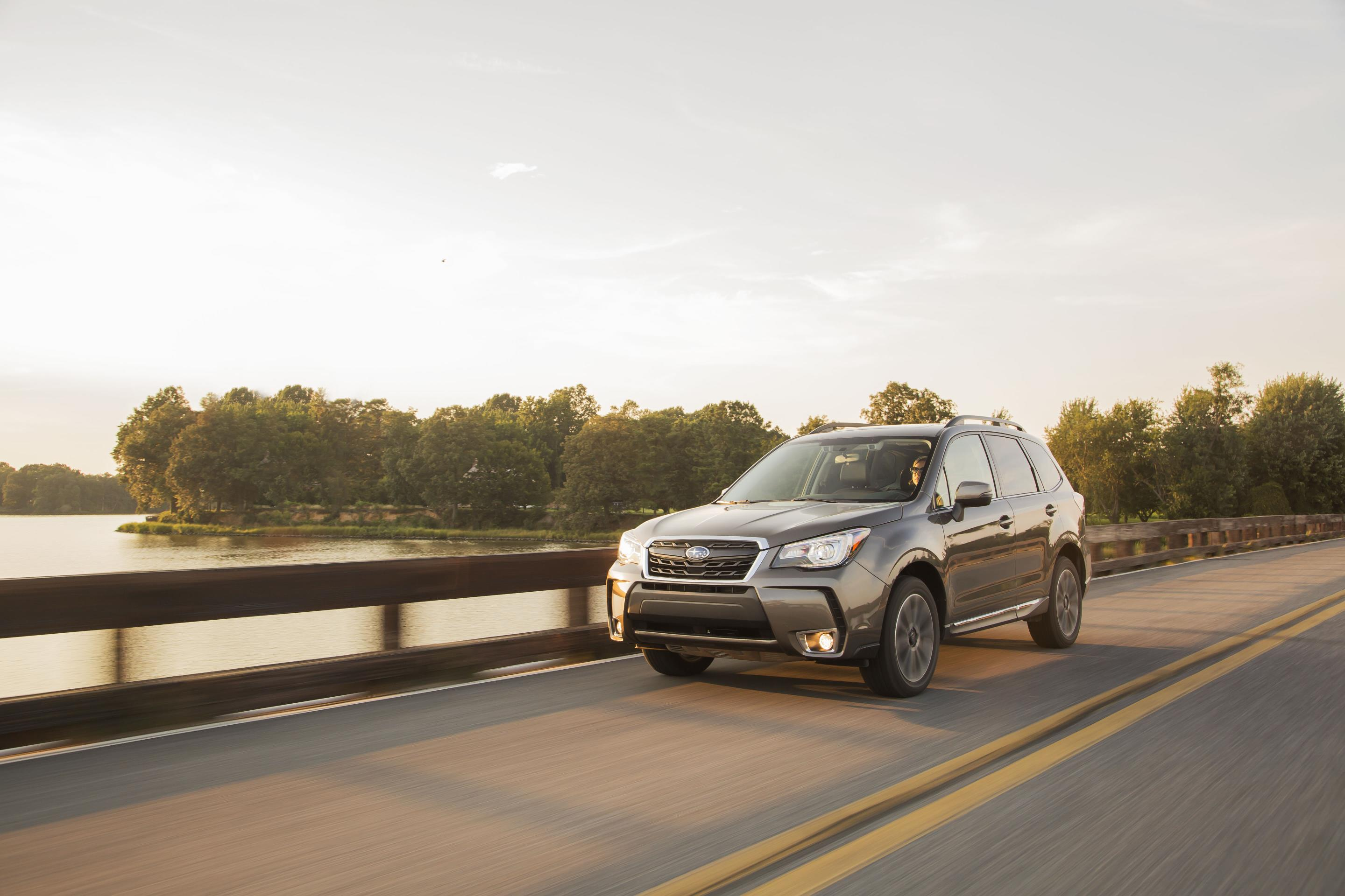 Subaru Forester, one of Subaru's top selling vehicles in calendar year 2017