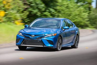 Toyota Camry, one of Toyota's's top selling vehicles in the USA in 2017