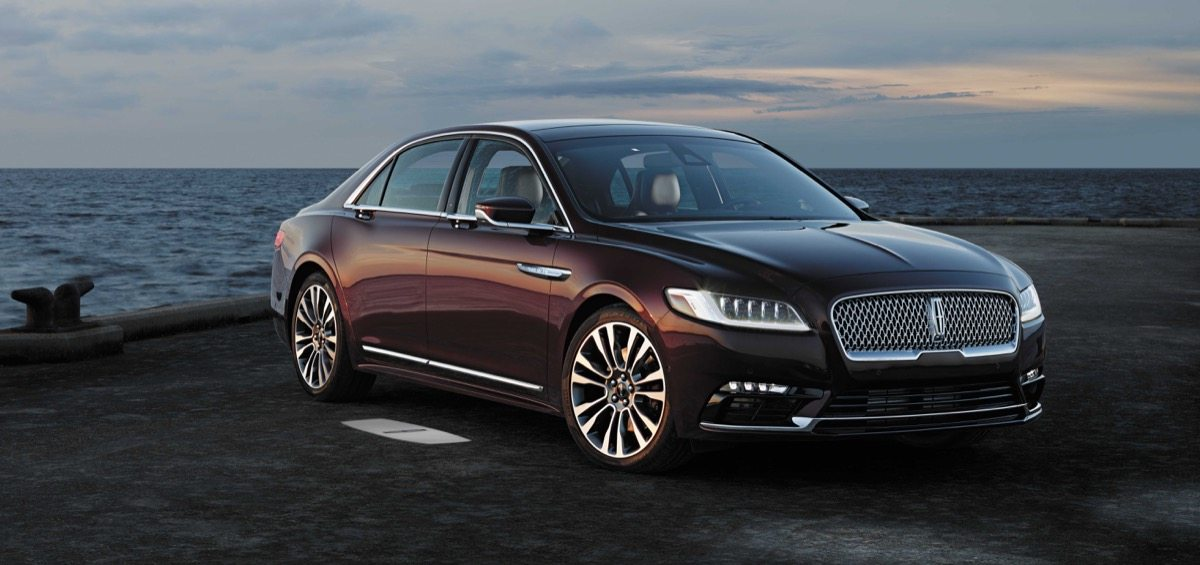 2017 Lincoln Continental - Image: Lincoln