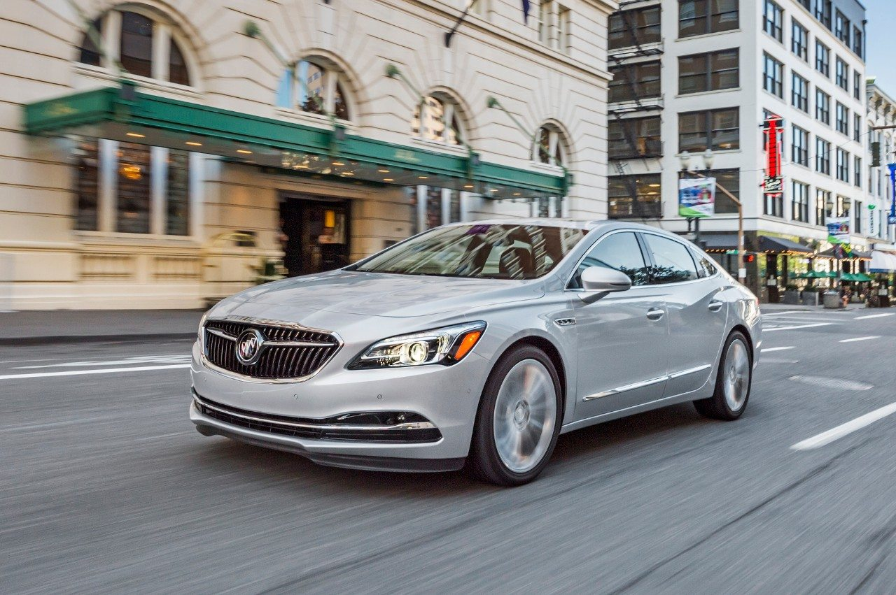 2018 Buick LACrosse - Image: GM