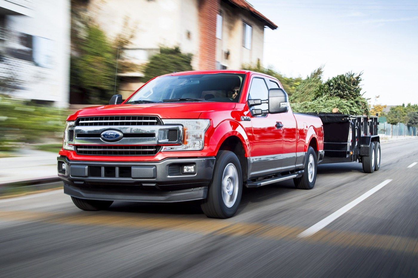2018 F-150 Power Stroke Diesel - Image: Ford