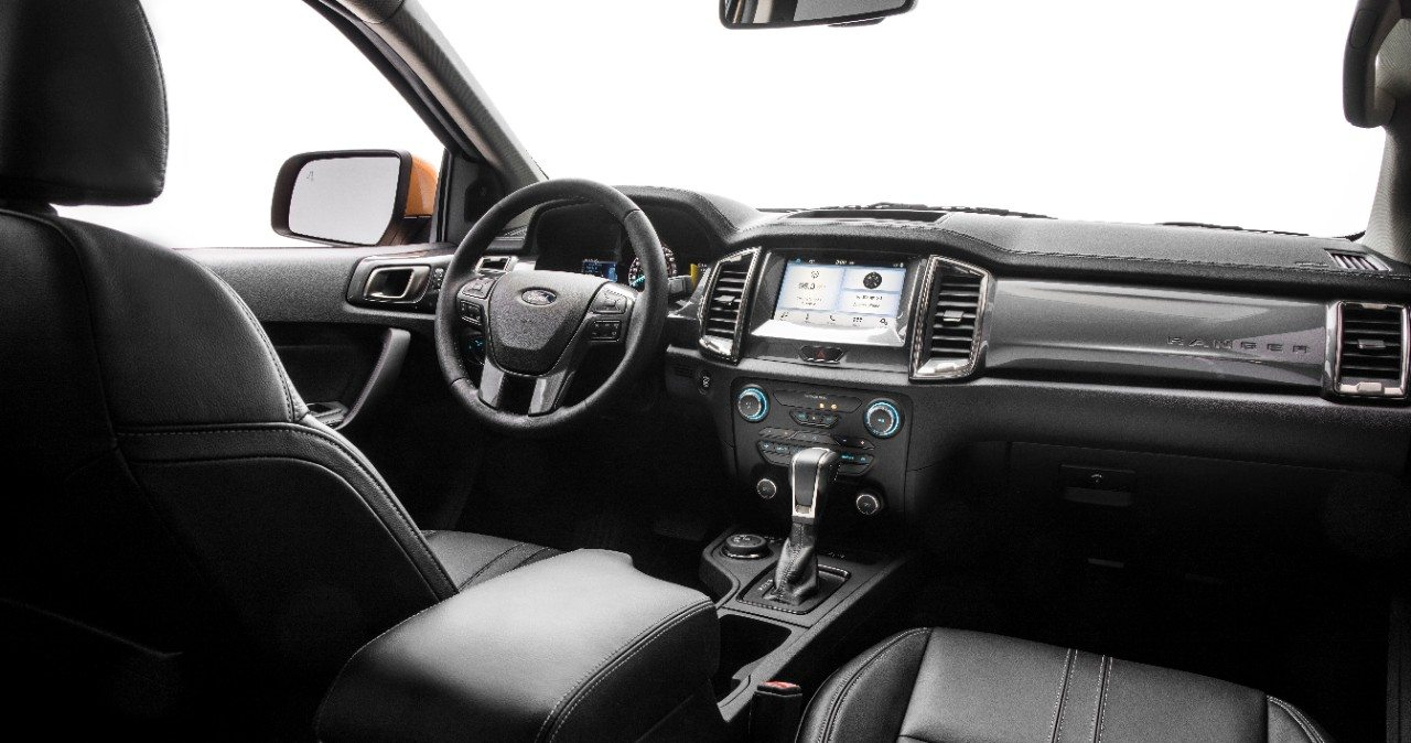 2019 Ford Ranger interior - Image: Ford