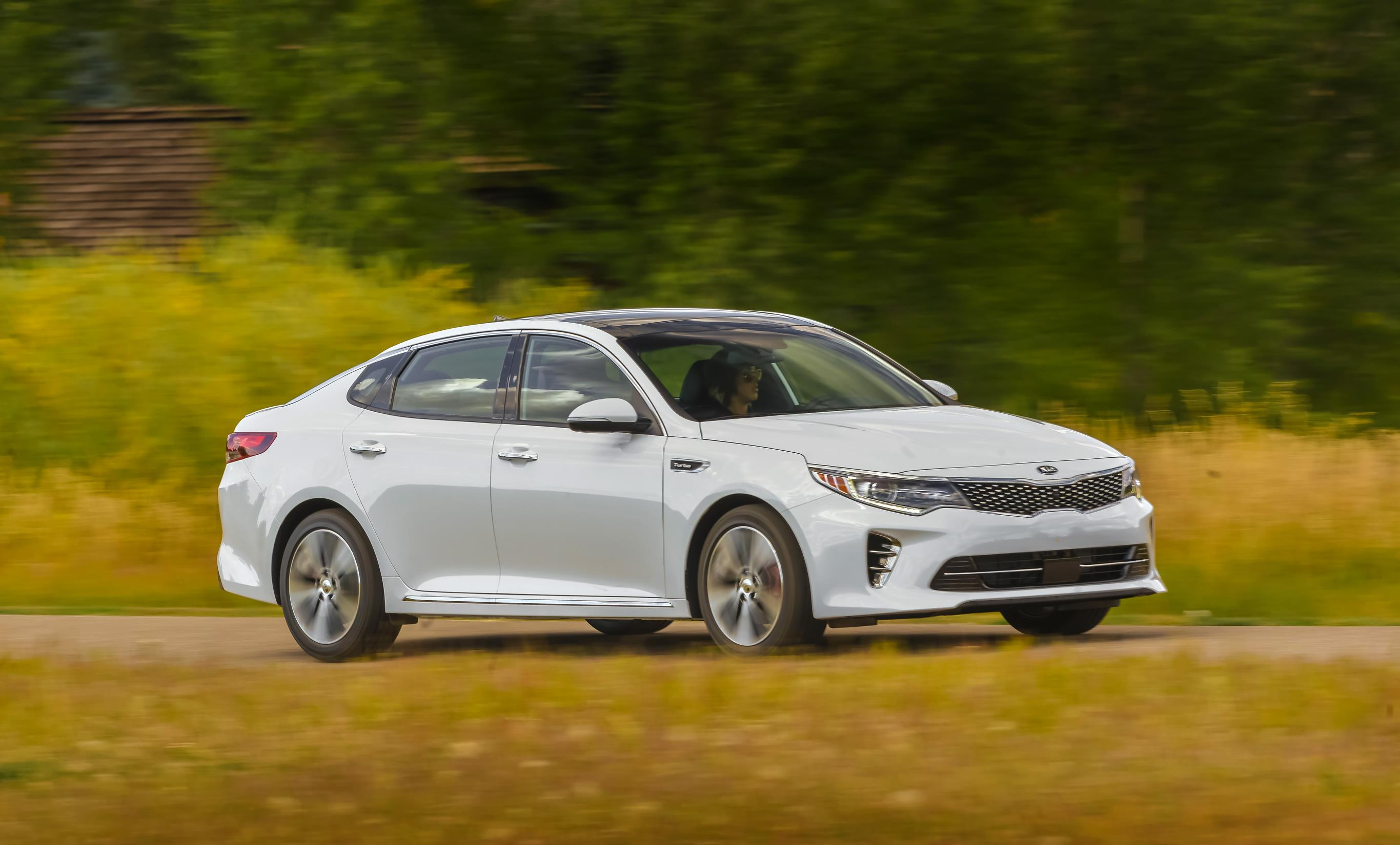 Kia Optima, one of Kia's top selling vehicles in calendar year 2017