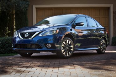 Nissan Sentra, one of Nissan's top selling vehicles in calendar year 2017