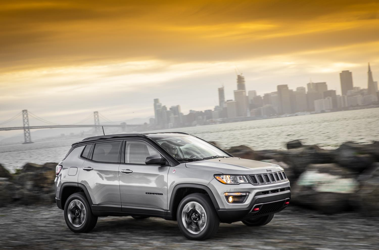 Jeep Compass, one of Jeep's top selling vehicles in calendar year 2017