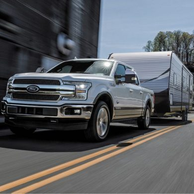 Ford F-150 is delivering another first – its all-new 3.0-liter Power Stroke® diesel engine targeted to return an EPA-estimated rating of 30 mpg highway - Image: Ford