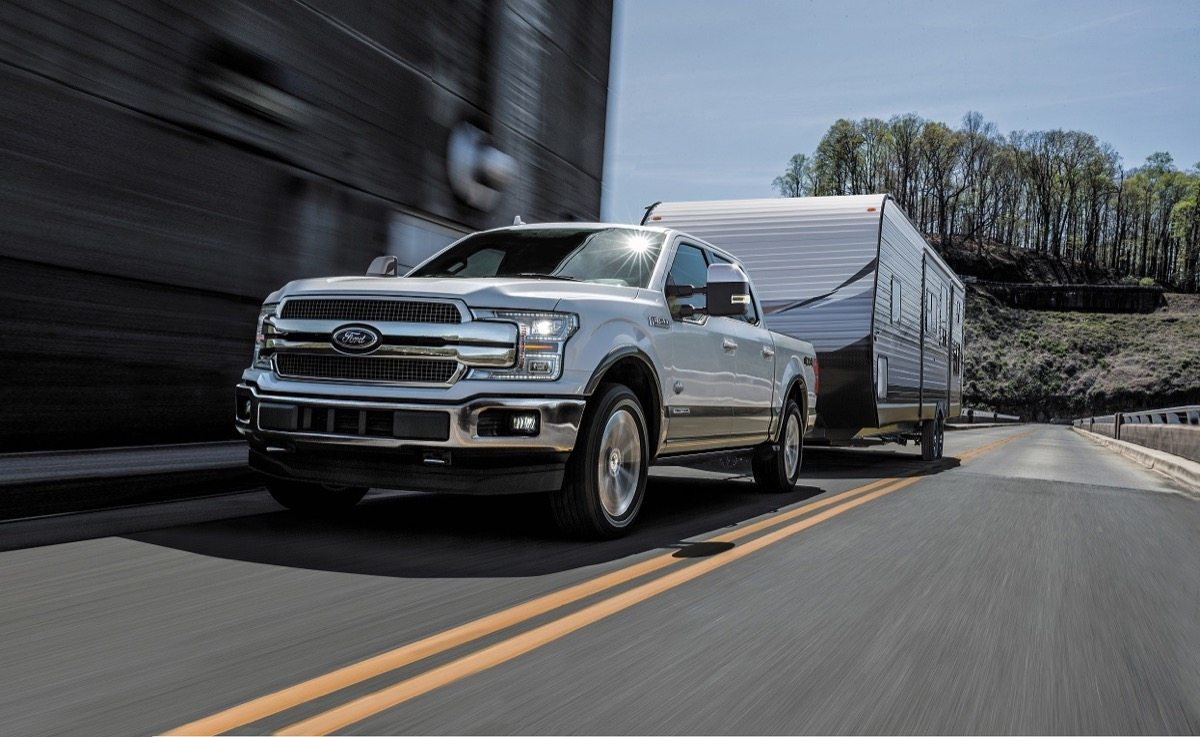 Ford f 150 is delivering another first its all new 3 0 liter