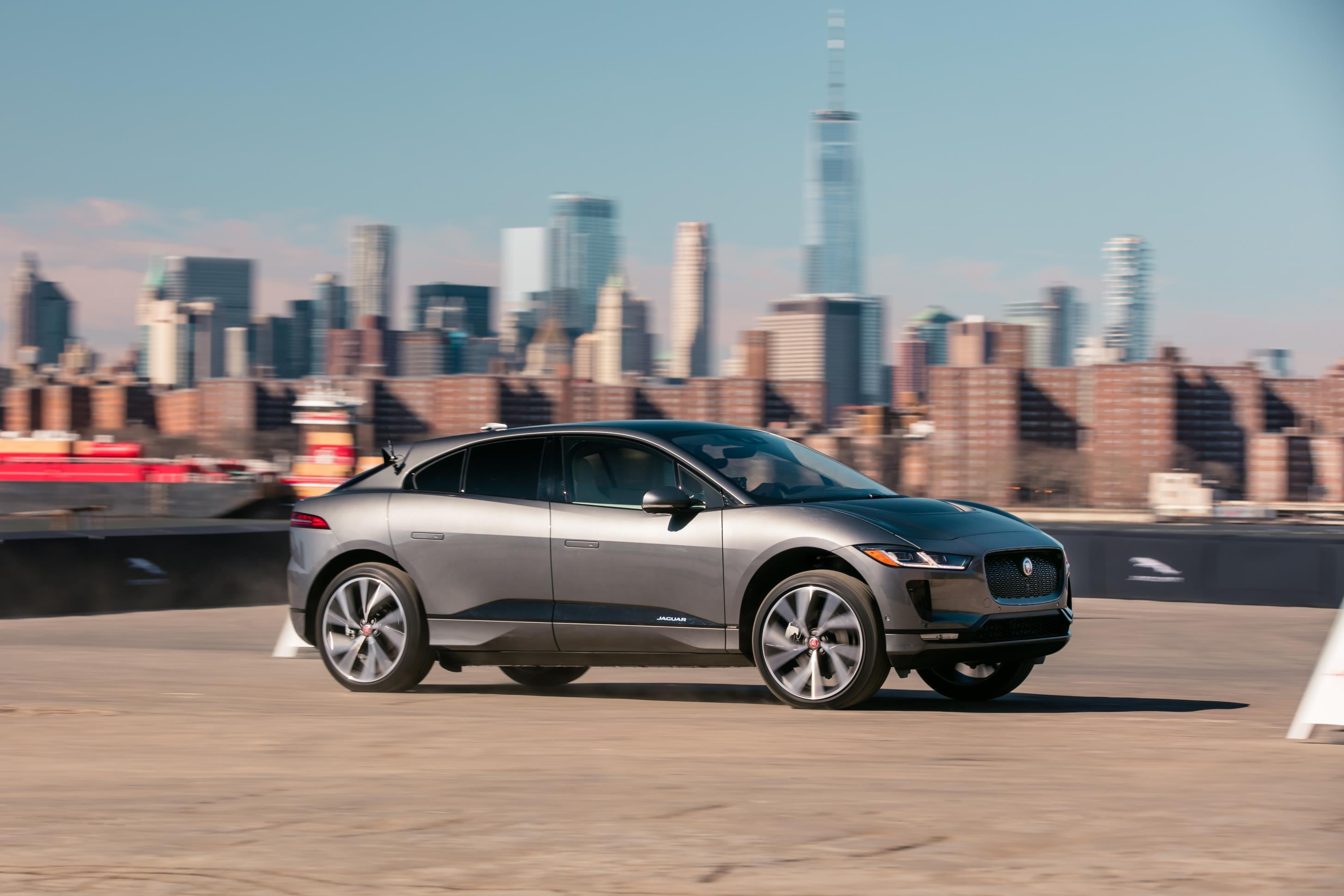 Will most of us soon be driving electric SUVs like the i-Pace concept?
