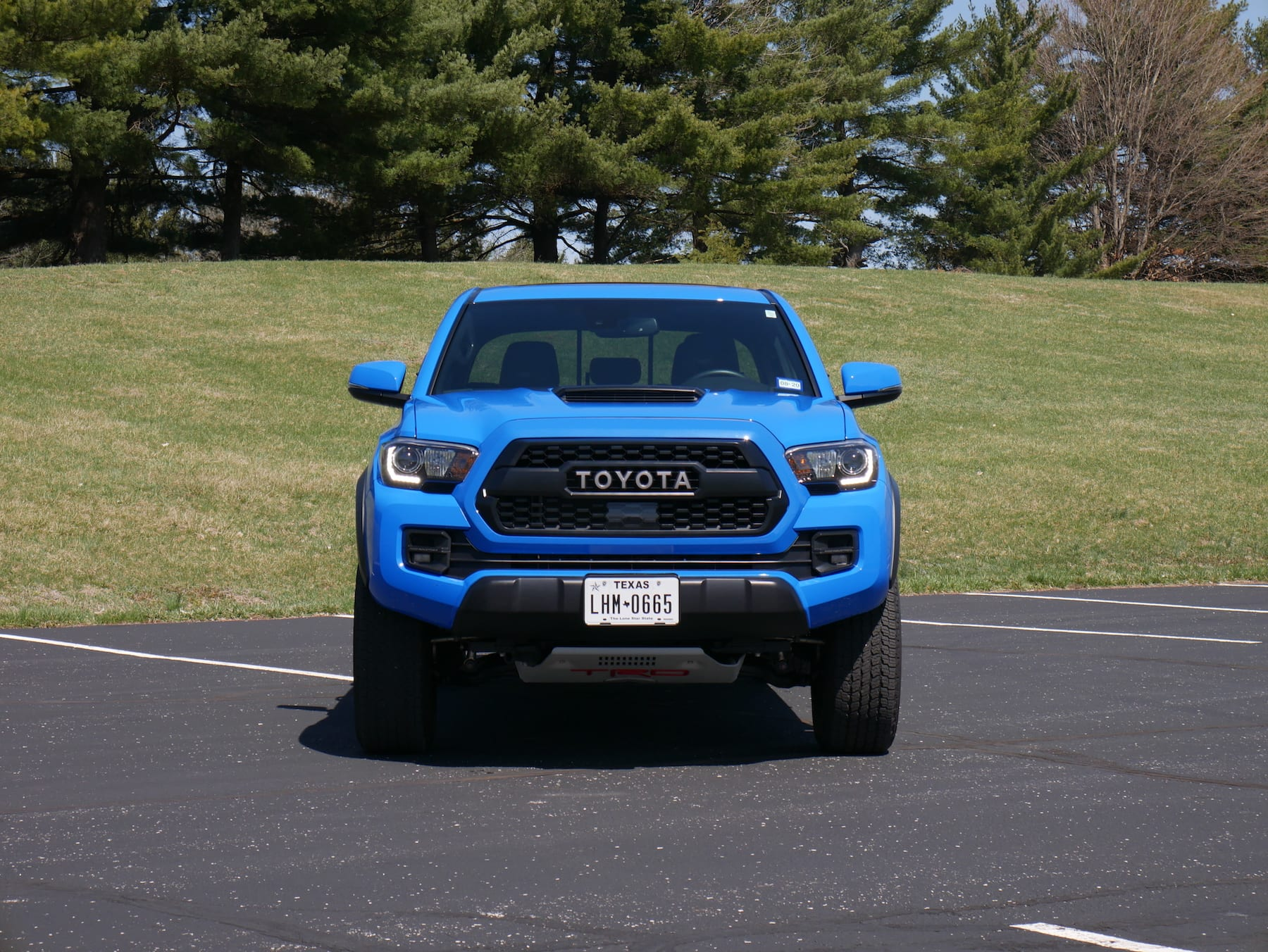 2019 Toyota Tacoma TRD Pro front