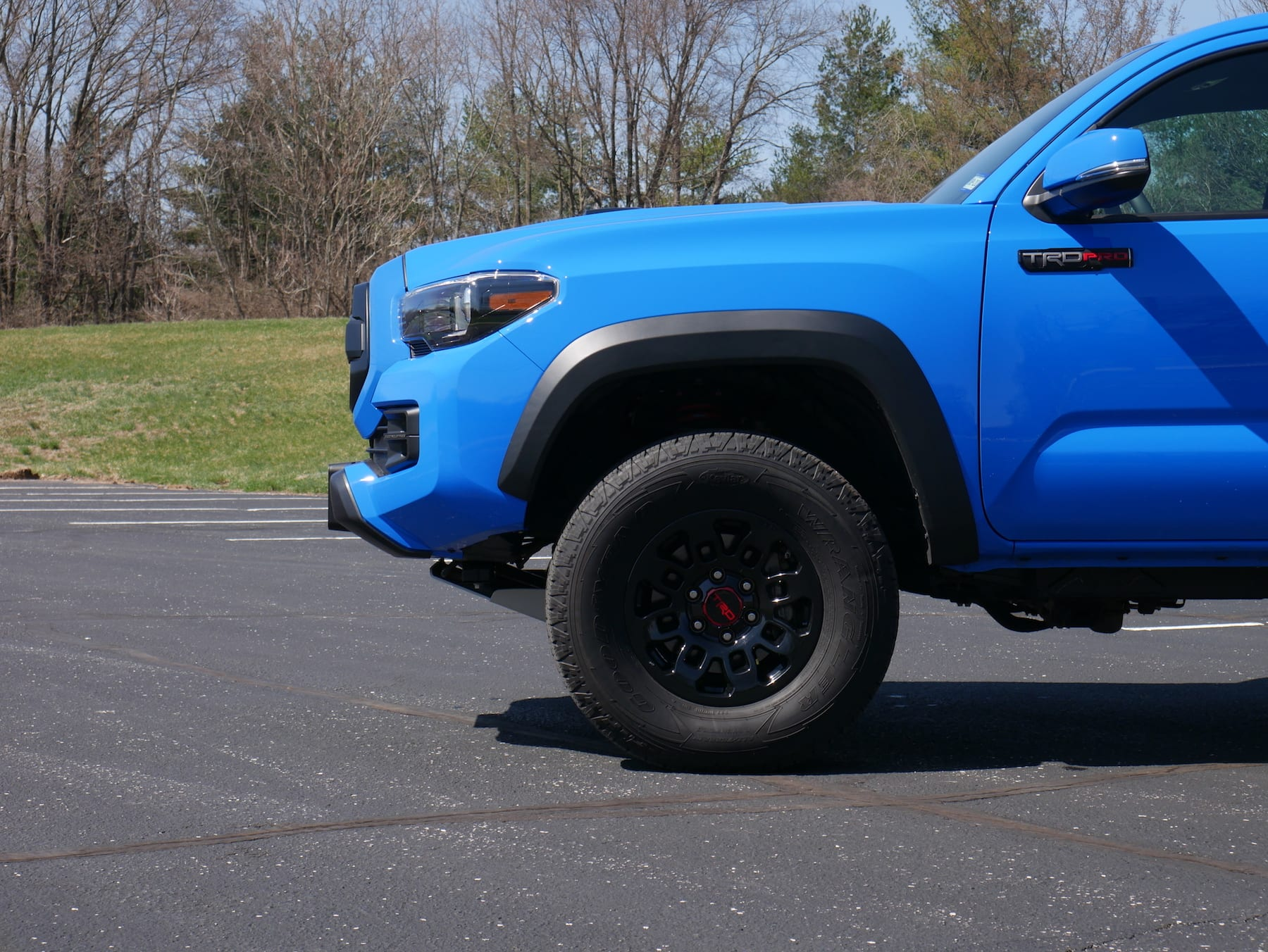 2019 Toyota Tacoma TRD Pro front fender