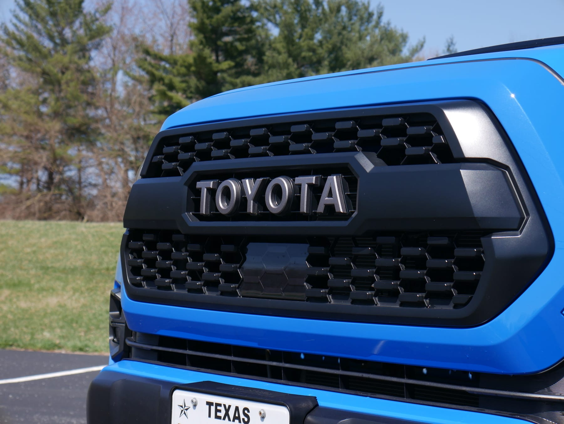 2019 Toyota Tacoma TRD Pro grille