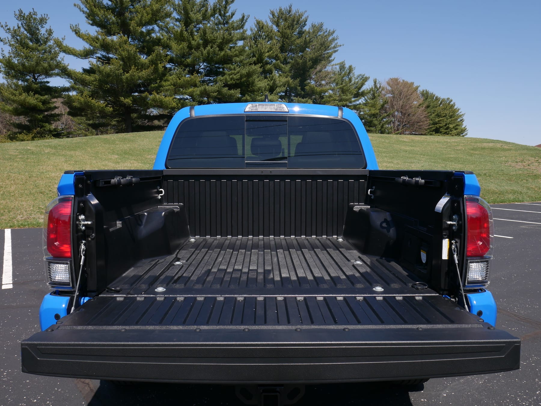 2019 Toyota Tacoma TRD Pro bed