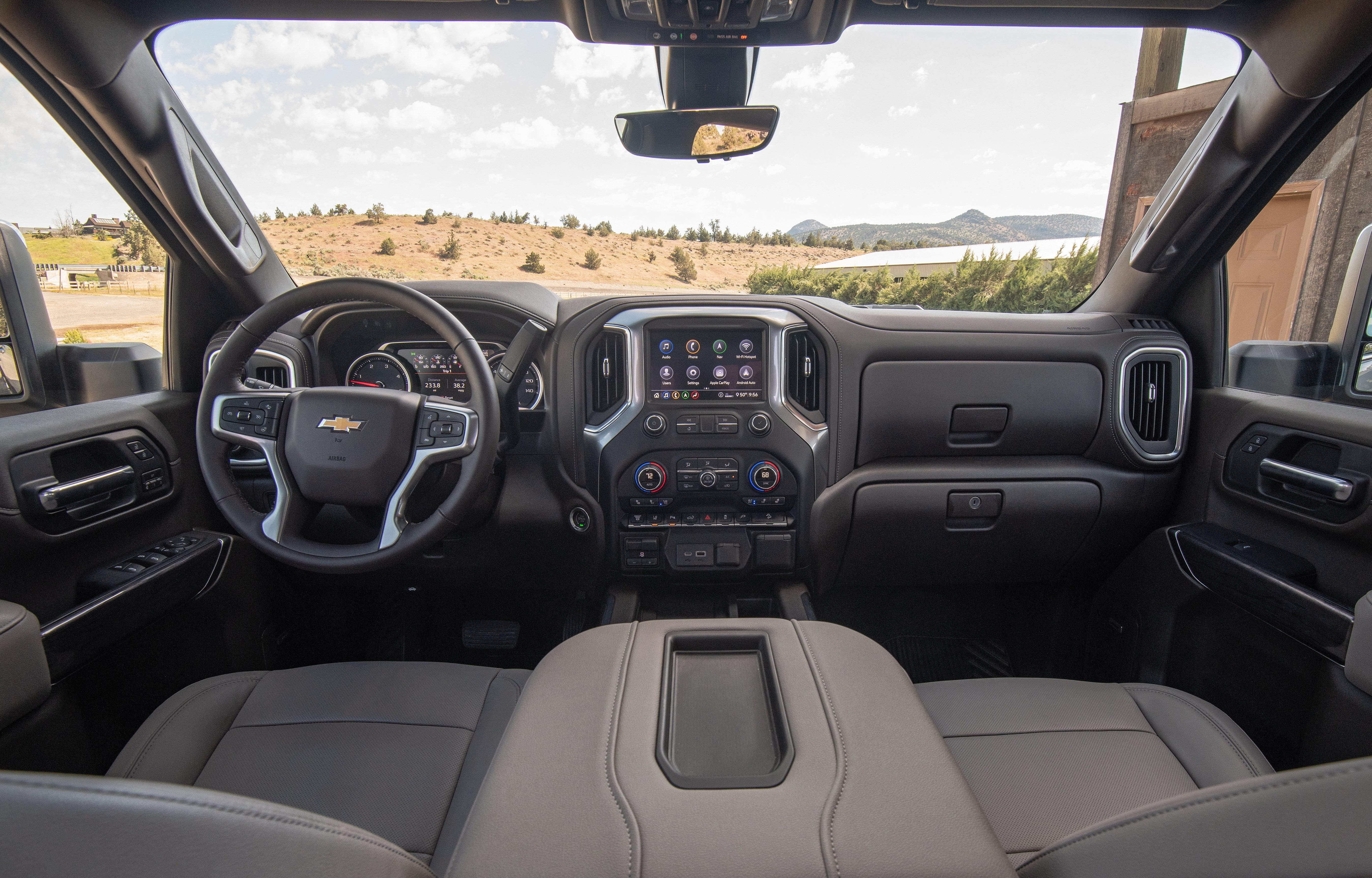 2020 Chevrolet Silverado 2500 HD Z71 interior