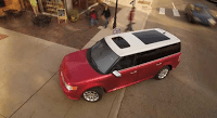 ford flex red