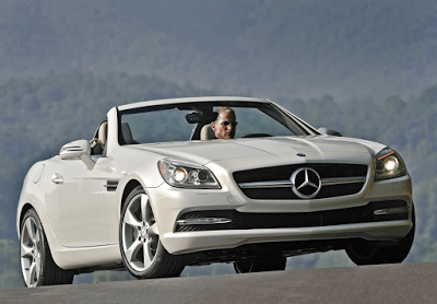 2012 Mercedes-Benz SLK350 white
